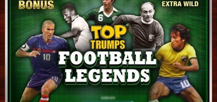 Descripción general del juego de tragamonedas en línea Top Trumps Football Legends