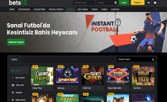 Bets10, Realm Entertainment